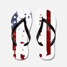 Funny Baby 4th of july Flip Flops