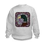 Mallard Circle Mosaic Kids Sweatshirt
