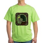 Mallard Circle Mosaic Green T-Shirt