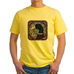 Mallard Circle Mosaic Yellow T-Shirt