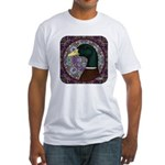 Mallard Circle Mosaic Fitted T-Shirt