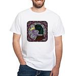 Mallard Circle Mosaic White T-Shirt