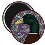 "Mallard Circle Mosaic 2.25"" Magnet (100 pack)"