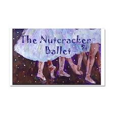 Nutcracker Ballet Car Magnet 20 x 12