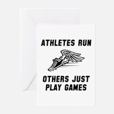 Athletes Run Greeting Cards (Pk of 10)