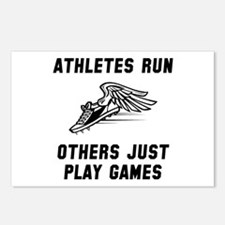 Athletes Run Postcards (Package of 8)