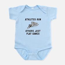 Athletes Run Infant Bodysuit