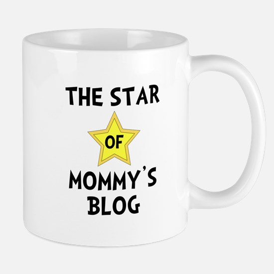 Mommy's Blog Star Mug