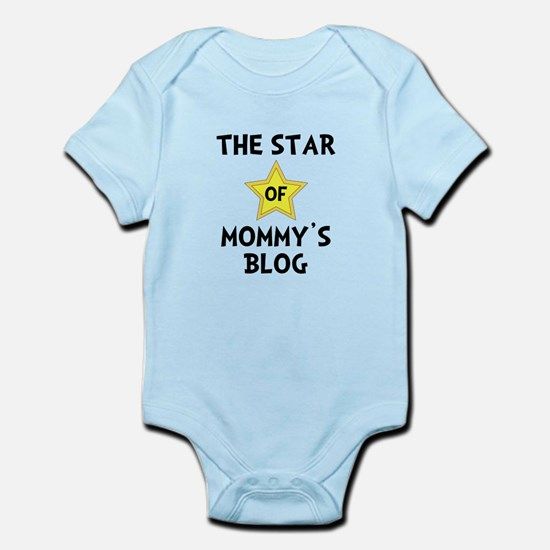 Mommy's Blog Star Infant Bodysuit