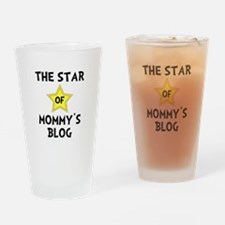 Mommy's Blog Star Drinking Glass