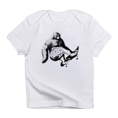 SKATEBOARD YETI Infant T-Shirt