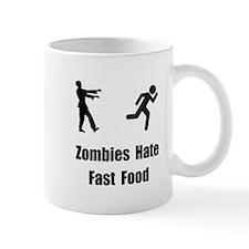 Zombies Hate Fast Food Mug