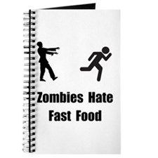 Zombies Hate Fast Food Journal