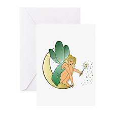 Fairy Half Moon Greeting Cards (Pk of 20)
