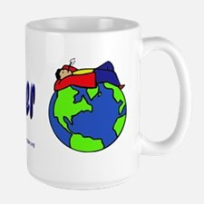 God's Happy Feastgoer Large Mug