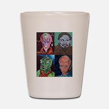 Aliens of Star Trek Shot Glass