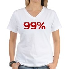 Marginalized 99 Percent V-Neck T-Shirt