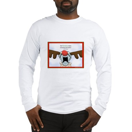 Zombie Christmas Long Sleeve T-Shirt