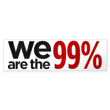 We are the 99 Percent (Bumper 10 pk)