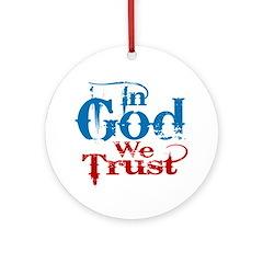 In God We Trust! ornament v1