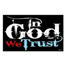 In God We Trust! Decal