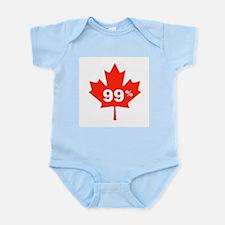 Canadian Maple Leaf 99% Infant Bodysuit