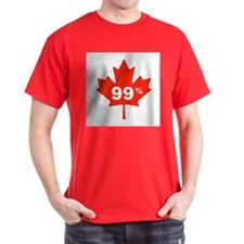 Canadian Maple Leaf 99% T-Shirt