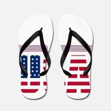 Baby 4th of july Flip Flops