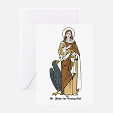 St. John the Evangelist Greeting Cards (Package of