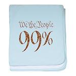 we the people 99% vintage baby blanket