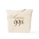 we the people 99% vintage Tote Bag