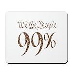 we the people 99% vintage Mousepad