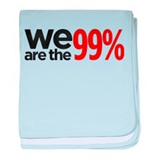 """We are the 99%"" baby blanket"