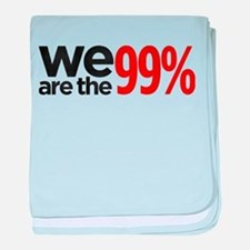 """""""We are the 99%"""" baby blanket"""