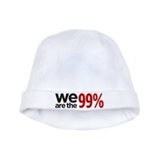 """""""We are the 99%"""" baby hat"""