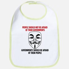 Anonymous Quote Baby Bib