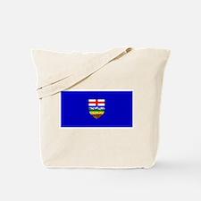 Alberta Albertan Blank Flag Tote Bag