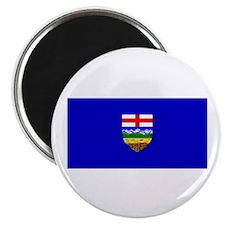 "Alberta Albertan Blank Flag 2.25"" Magnet (10 pack)"