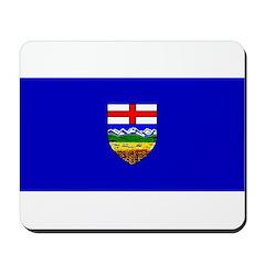 Alberta Albertan Blank Flag Mousepad