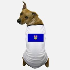 Alberta Albertan Blank Flag Dog T-Shirt