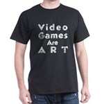Black Video Game T-Shirt