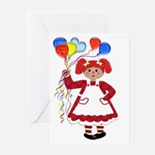 RaggedyAnn Greeting Cards (Pk of 10)
