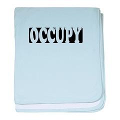 occupy reverse baby blanket