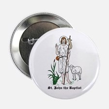 "St. John the Baptist 2.25"" Button (10 pack)"