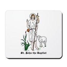 St. John the Baptist Mousepad