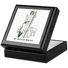 St. John the Baptist Keepsake Box