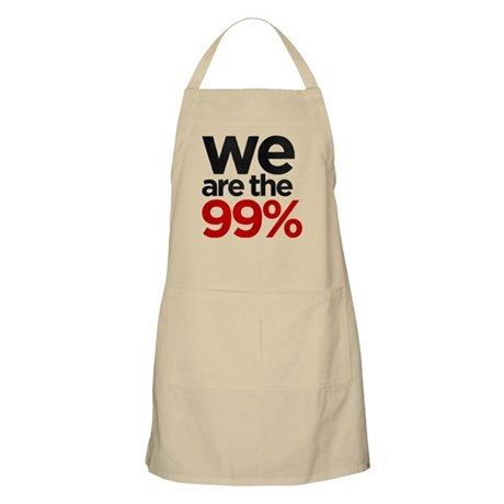 """""""We are the 99%"""" Apron"""