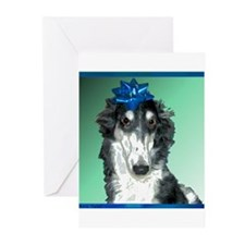 Insulted Borzoi Greeting Cards (Pk of 10)
