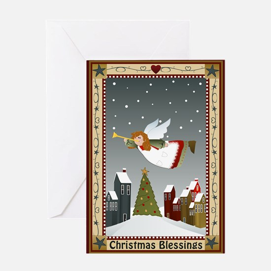 Christmas Blessings (Blank Ins) Greeting Card