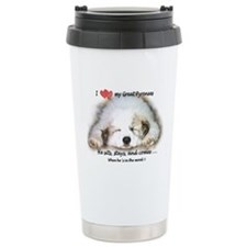 Great Pyrenees Travel Mug, Pyrenee